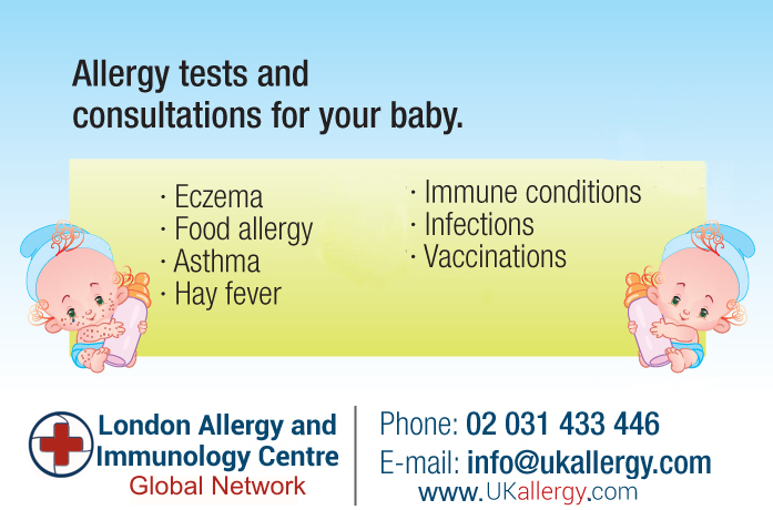 Baby Milk Allergy UK